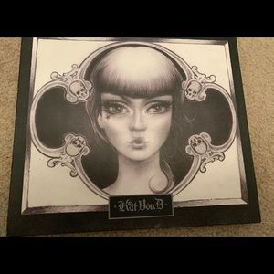 Kat Von D Spell Binding Eye Shadow Palette Rare